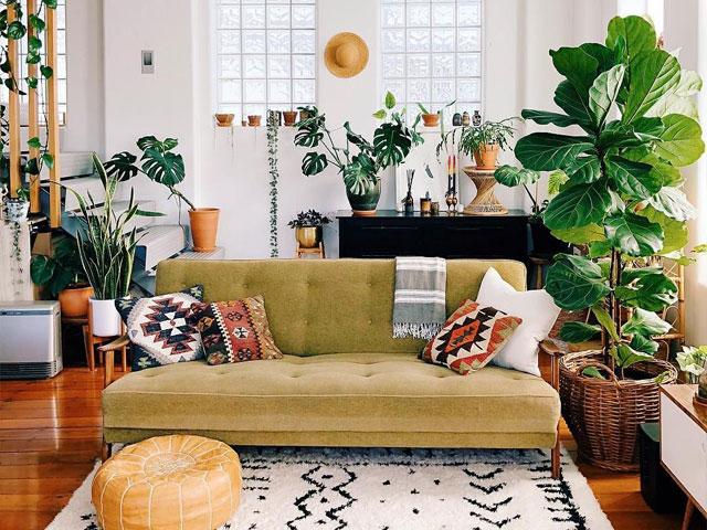 không gian xanh cho nhà nhỏ